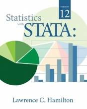Lawrence Hamilton Statistics with STATA : Version 12