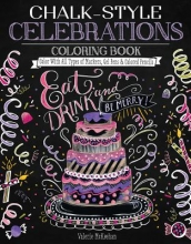Valerie McKeehan Chalk-Style Celebrations Coloring Book