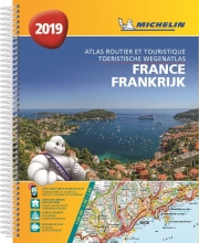 , ATLAS MICHELIN FRANCE 2019
