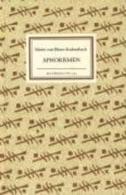 Ebner-Eschenbach, Marie von Aphorismen
