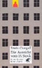 Chargaff, Erwin Die Aussicht vom dreizehnten (13) Stock