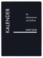 Lehrerkalender PVC schwarz 2018