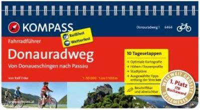 Enke, Ralf FF6464 Donauradweg 1, von Donaueschingen nach Passau Kompass