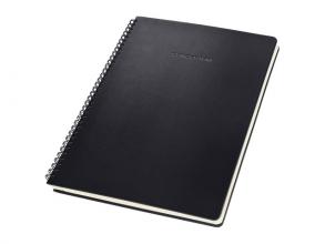 , Notitieboek Sigel Conceptum A4 lijn spiraal zwart