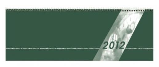 Tischquerkalender Giganta 2018 Nr. 126-0013