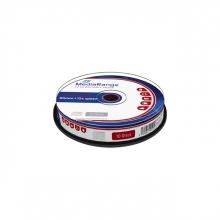 , CD-RW MediaRange 700MB|80min 12x speed, 10 stuks