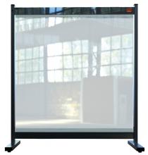 , Bureauscherm Nobo doorzichtig PVC 770x860mm