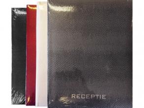, Receptie album rood 18 vel met kader