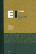 Everett Rowson Kate Fleet  Gudrun Krämer  Denis Matringe  John Nawas, The Encyclopaedia of Islam Three Yearbook 2014