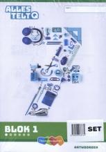 , Alles telt Q Antwoordschrift Plus blok 1 t/m 6 groep 7