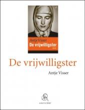 Antje  Visser De vrijwilligster (grote letter) - POD editie