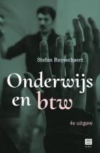 Stefan Ruysschaert , Onderwijs en btw