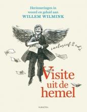 Jacques  Klöters Visite uit de hemel, Boek met cd Jacques Klöters mmv. Piet Tullenaar en Kick van der Veer