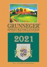 Fré Schreiber , Grunneger spreukenklender 2021