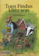 Sven  Nordqvist Toen Findus klein was