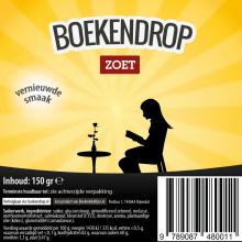 Boekwinkeltjes , Boekendrop, doos met 30 zakjes a 150 gram drop