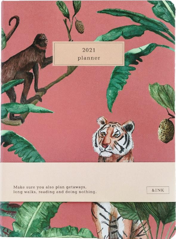 ,&INK Agenda 2021 - Roze Auteur: A-Journal