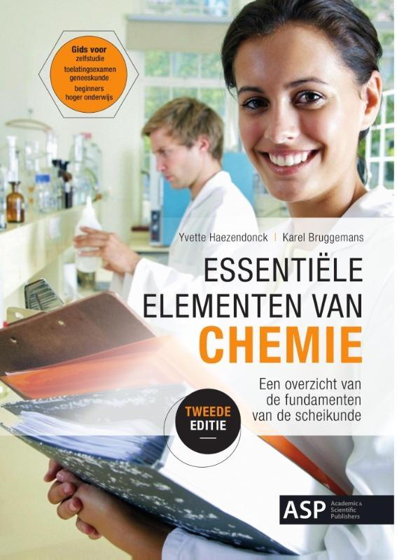 Yvette Haezendonck, Karel Verbruggen,Essentiële elementen van chemie editie 2016