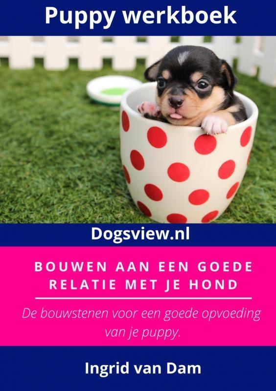 Ingrid van Dam,Puppy werkbook