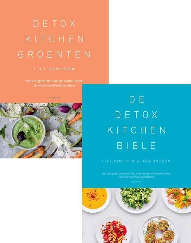 Lily  Simpson,Combipakket Detox Kitchen Groenten & Detox Kitchen Bible