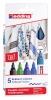,Viltstift edding 4500 textiel rond 2-3mm ass brilliante kleuren