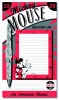 ,MICKEY MOUSE MAGNETIC NOTEPAD WITH PEN