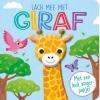,<b>Lach mee met giraf - vingerpopboek</b>