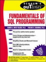 Mata-Toledo, Ramon Schaum`s Outline of Fundamentals of SQL Programming