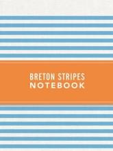 Breton Stripes Notebook - Sky Blue