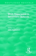 John Eggleston Work Experience in Secondary Schools