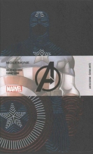 Moleskine the Avengers Limited Edition Notebook, Large, Ruled, Black, Captain American