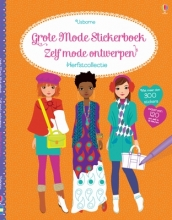 Grote mode stickerboek - zelf mode ontwerpen herfstcollectie