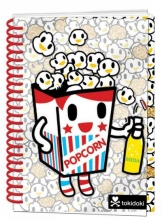 Tokidoki Popcorn Notebook