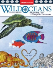 Nick Mayer Wild Oceans Coloring Book