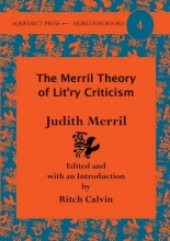 Merril, Judith The Merril Theory of Lit`ry Criticism