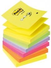 , Memoblok 3M Post-it Z-Note R330 76x76mm neon rainbow