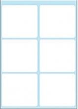 , Etiket Herma 3753 36x40mm wit 42stuks