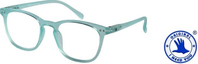 , Leesbril I Need You Frozen +2.50 dpt blauw