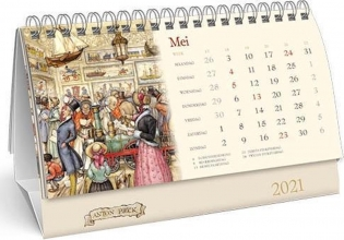 , Desk kalender 2021 anton pieck 21x14