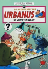 Willy  Linthout De avonturen van Urbanus De vergeten Willy