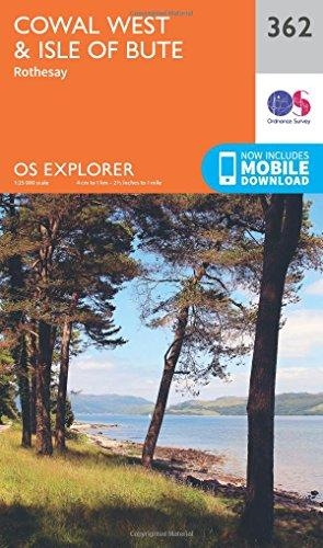 Ordnance Survey,Cowal West and Isle of Bute