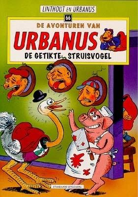 Urbanus, W. Linthout,De getikte struisvogel