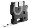 , Labeltape Dymo Rhino 18483 polyester 12mmx5.5m zwart op wt