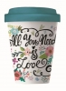 <b>Bcp228</b>,Bamboocup coffee all you need is love