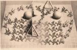 <b>Puz-833</b>,Puzzel toverspiegel - m.c. escher - 1000
