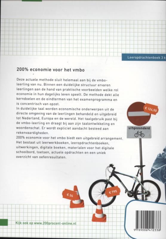 Ilse Ouwens, Paul Scholte,200 procent Economie voor het vmbo Leeropdrachtenboek 3k