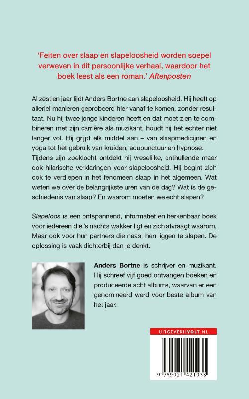 Anders Bortne,Slapeloos
