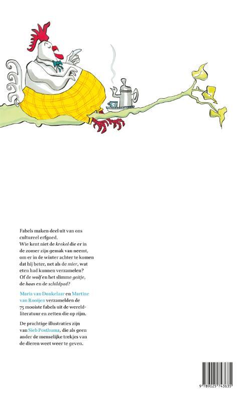 Maria van Donkelaar, Martine van Rooijen,Boven in de groene linde zat een moddervette haan