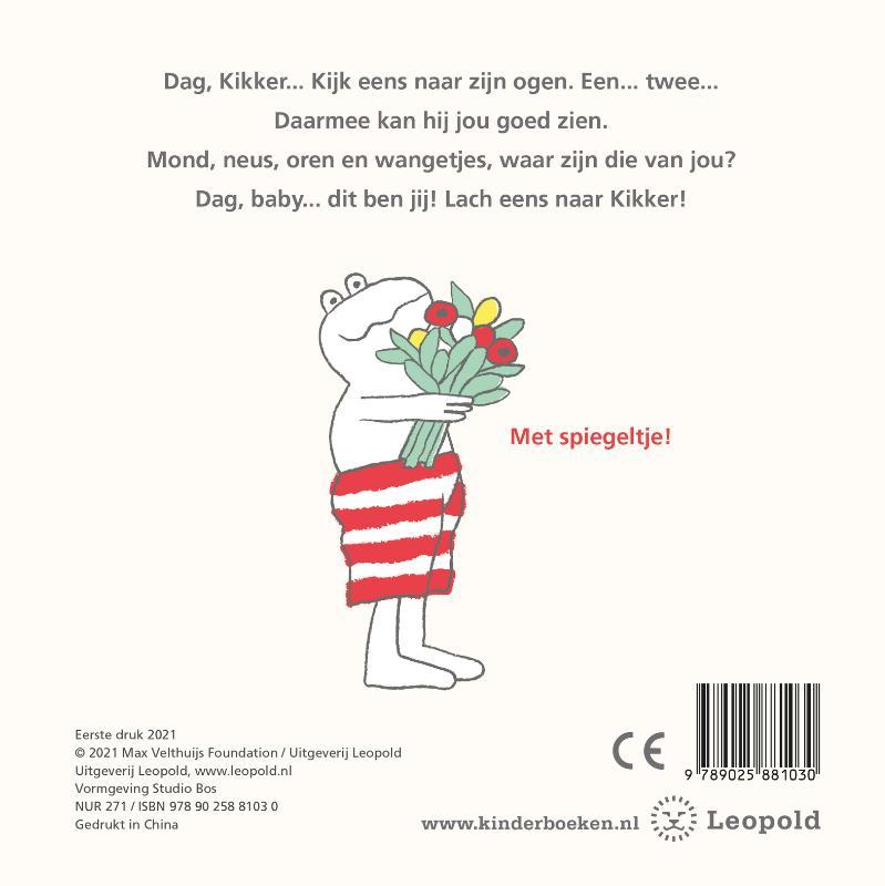 Max Velthuijs,Dag, Kikker... dag baby!