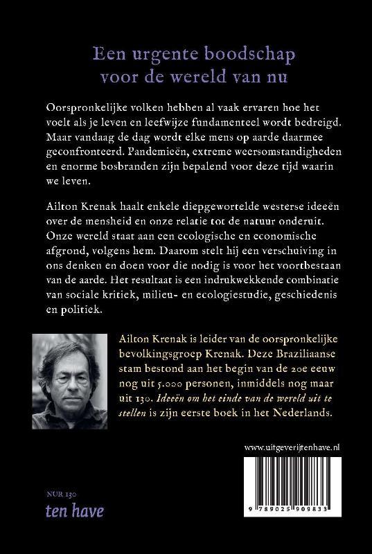 Ailton Krenak,Ideeën om het einde van de wereld uit te stellen